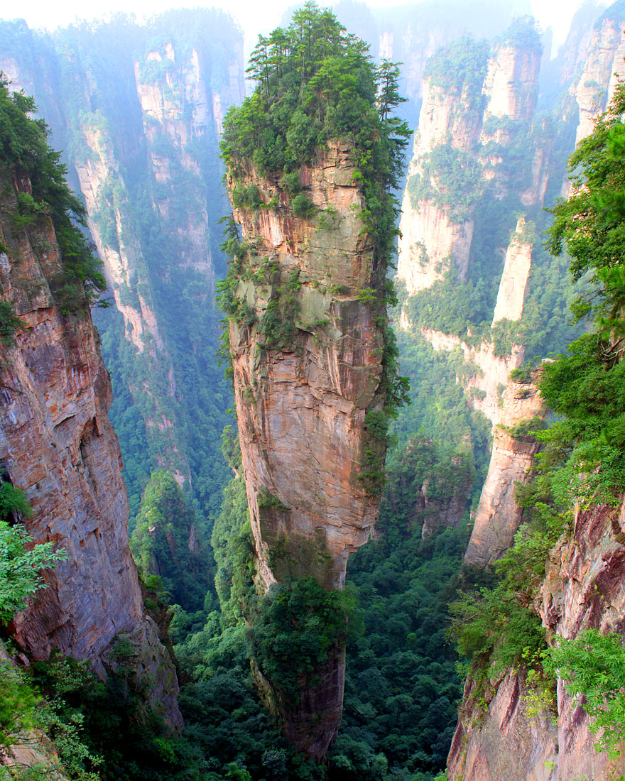Pergunungan Tianzi, China