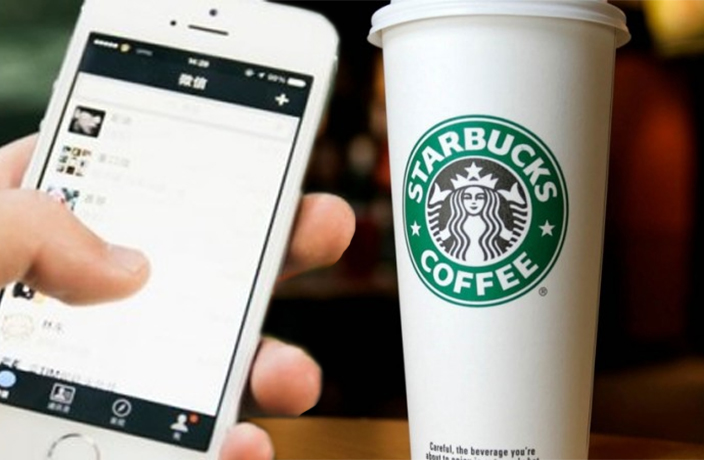 wechat pay starbucks