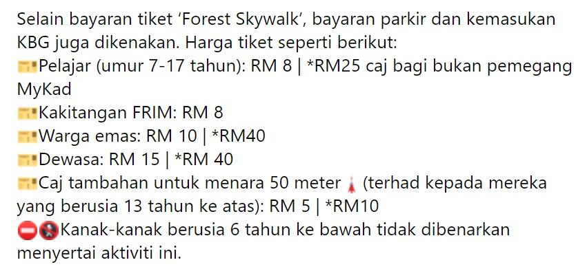 FRIM Forest Skywalk